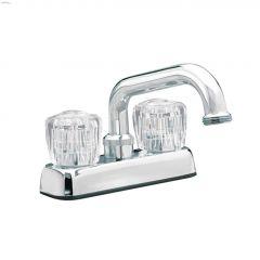 2-Handle Polished Chrome Knob Sunglow Laundry Faucet