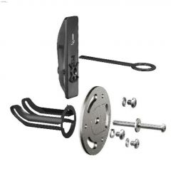Chrome Stainless Steel SecureMount Anchors