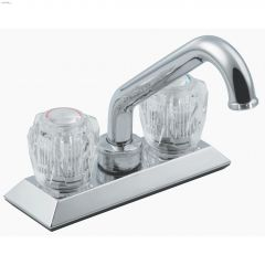 2-Handle Manor Low Arc Laundry Faucet