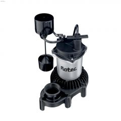 1/3 HP Vertical Float High Output Submersible Sump Pump