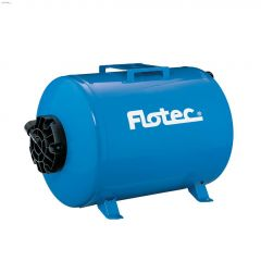 19 gal Blue Horizontal Pre Charged Pressure Tank