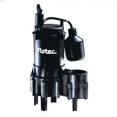 4/10 HP 115V Automatic Economy Submersible Sewage Pump