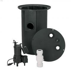 4/10 HP 115V Sewage Pump System