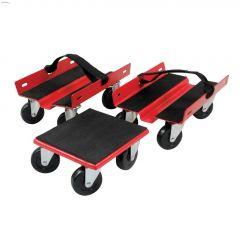 1500 lb Rubberized Snowmobile Dolly Set