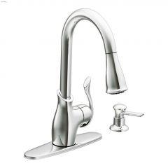 High Arc Pulldown Kitchen Faucet