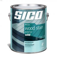 4 L Stain Water-Based Solid Exterior Wood