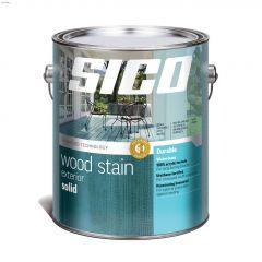 1 L Satin Exterior Solid-Color Wood Finish