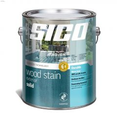 4 L Satin Water-Based Exterior Solid-Color Wood Finish