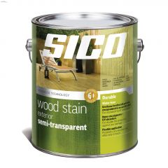 1 L Satin Exterior Semi-Transparent Wood Finish