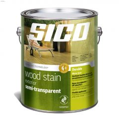 4 L Satin Exterior Semi-Transparent Wood Finish
