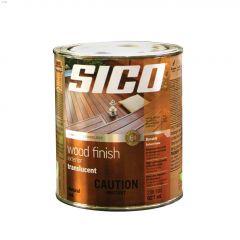 1 L Semi-gloss Solvent-Based Exterior Wood Finish
