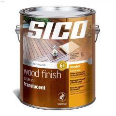 4 L Semi-gloss Solvent-Based Exterior Wood Finish