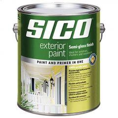 1 L Semi-Gloss Exterior Latex Paint