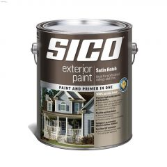 4 L 100% Acrylic Satin Exterior Latex Paint