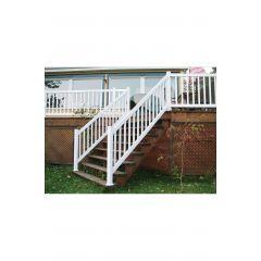 "72"" x 36"" PVC Stair Railing"