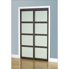 "60"" x 80-1/2"" Dusty Grey Fusion Closet Door"