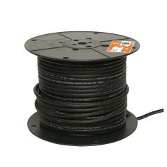 16/3 Black Electrical Wire
