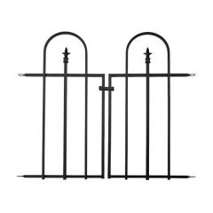 """36"""" x 48"""" Gate for Triple Arch Finial Fence"""