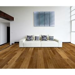 "6.5"" Bronze Eye Hickory Engineered Hardwood (37.4sf)"