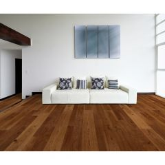"6.5"" Caramelized Hickory Engineered Hardwood (37.4sf)"