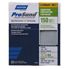 Prosand Sanding Sheet 9 X 11 150grit Job Pack-20/Pack