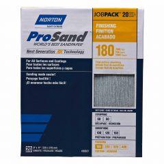Prosand Sanding Sheet 9 X 11 180grit Job Pack-20/Pack