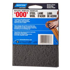 Synthetic Steel Wool Pads Extra Fine-2/Pack