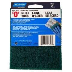Synthetic Steel Wool Pads Fine-2/Pack