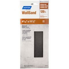"Wallsand Drywall Sanding Screen Sheets 4""X11"" 120grit-2/Pack"