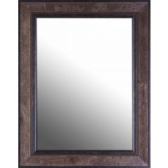 Real Wood Framed Mirror
