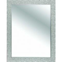 Mosaic Silver Framed Mirror
