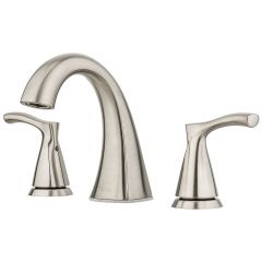 """Masey 8"""" Centre Lavatory Brushed Nickel Faucet"""