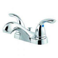 """Classic 4"""" Centre 2 Handle Chrome Lavatory Faucet"""