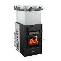 Drolet Heatmax Ii Wood Furnace with Blower and Plenum