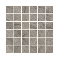 "2"" X 2"" Mirro Dark Grey Tile 3.87 Sq-ft/Box"
