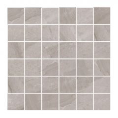 "2"" X 2"" Mirro Light Grey Tile 3.87 Sq-ft/Box"