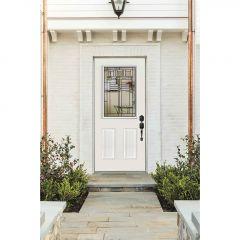 """22"""" X 36"""" Door Glass-oak Park Deco"""