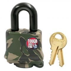 "1-9/16"" Covered Laminated Steel Padlock"