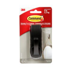 Command™ Large Modern Reflections Oil Rubbed Metal Hook