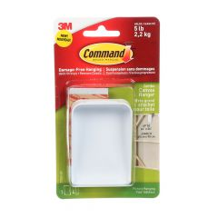 Command Jumbo Canvas Hanger,
