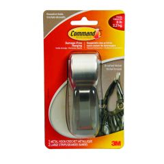 Command Large Forever Classic Metal Hook, All-weather