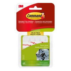 Command Small Poster Strips Value Pack