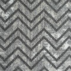 26'' Grey Bastille Deco Print Runner
