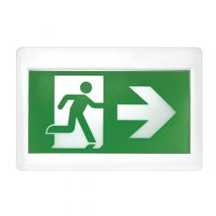 LED Emergency Exit Light with 3 Pictograms