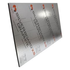 1-1/8 Silverboard Graphite Perforated Exterior Sheeting