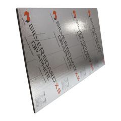 1-5/8 Silverboard Graphite Perforated Exterior Sheeting