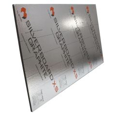 2-1/4 Silverboard Graphite Perforated Exterior Sheeting