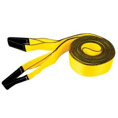 """4"""" x 30' Economy Tow Strap with Loops 20,000 Lb"""