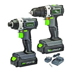 20v Lithium-Ion Drill/Impact Driver Combo Kit