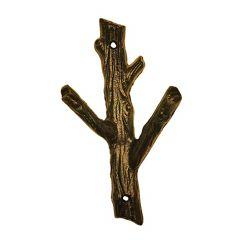 2 Branch Hook Medium Black